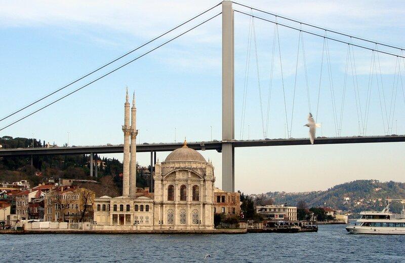 Мост через Босфор (Ататюркский мост)