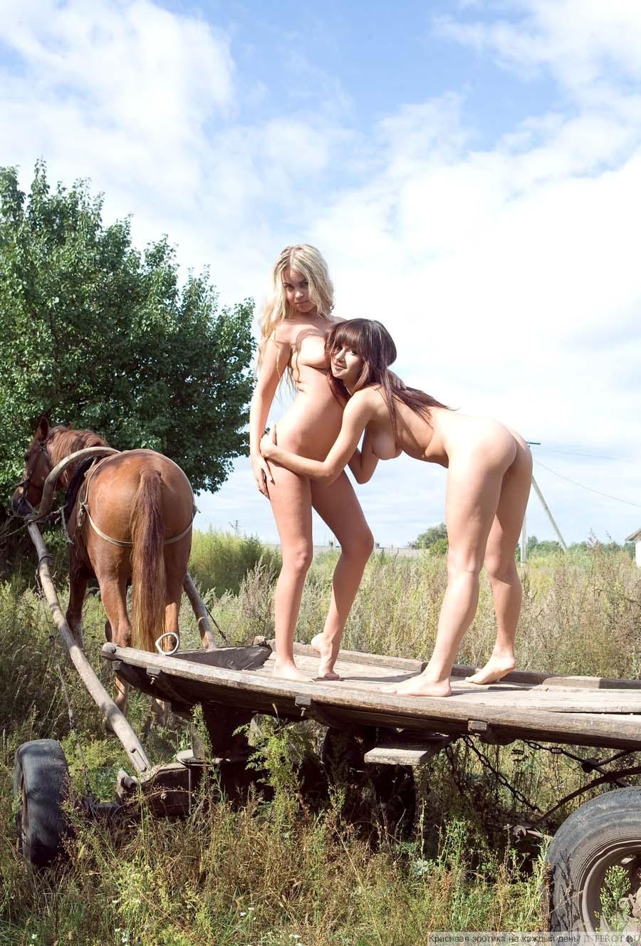 Деревенские девчонки (20 фото)