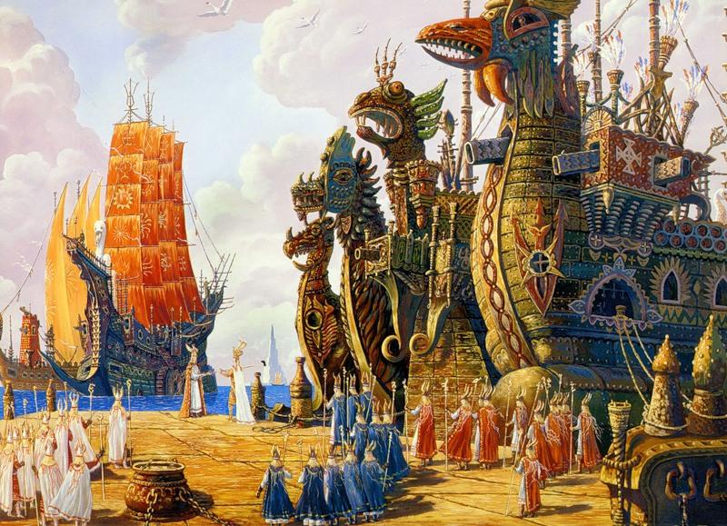 Флот Гипербореи выполнит приказ. Вс.Иванов.