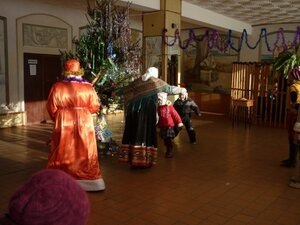 И зрители попали в новогоднюю сказку!