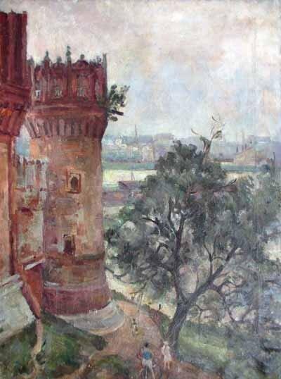 Александр Александрович ОСМЕРКИН (1892—1953) НОВОДЕВИЧИЙ МОНАСТЫРЬ 1936—1939