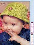 Панама для малыша - вязание крючком, описание и схема.