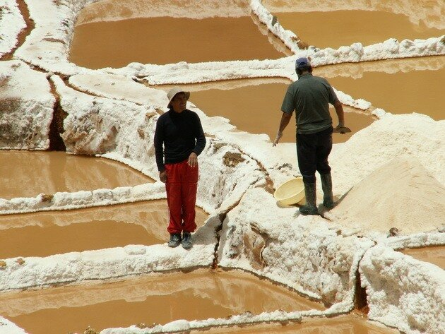 Соляные террасы Марас. Перу