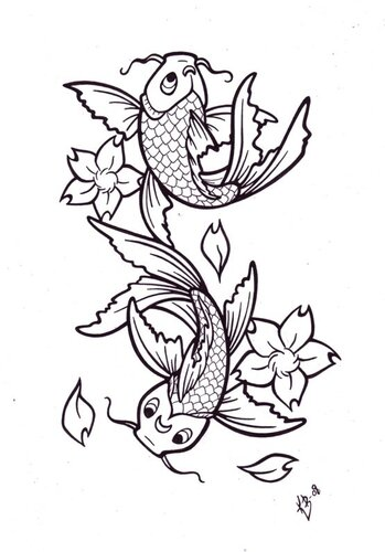 Рисунки рыб