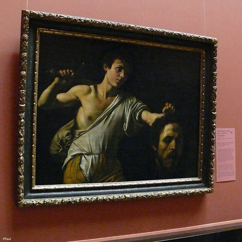 Давид с головой Голиафа, 1607 г. Караваджо
