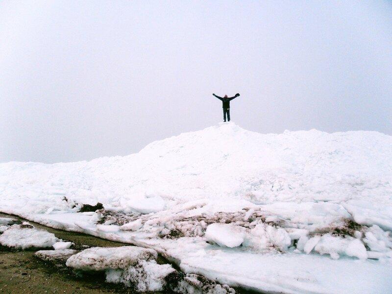 Привет с вершины ледяной