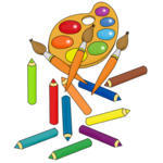 мега детский клип арт 190