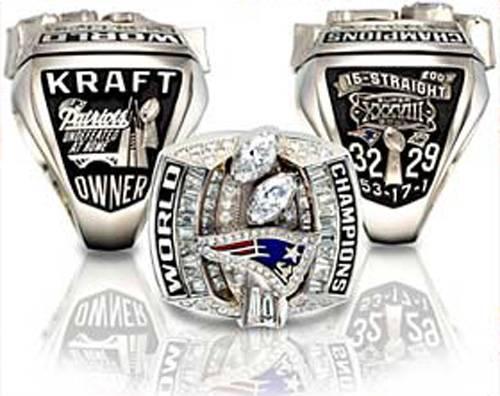 Чемпионские перстни / Champions Rings - New England Patriots