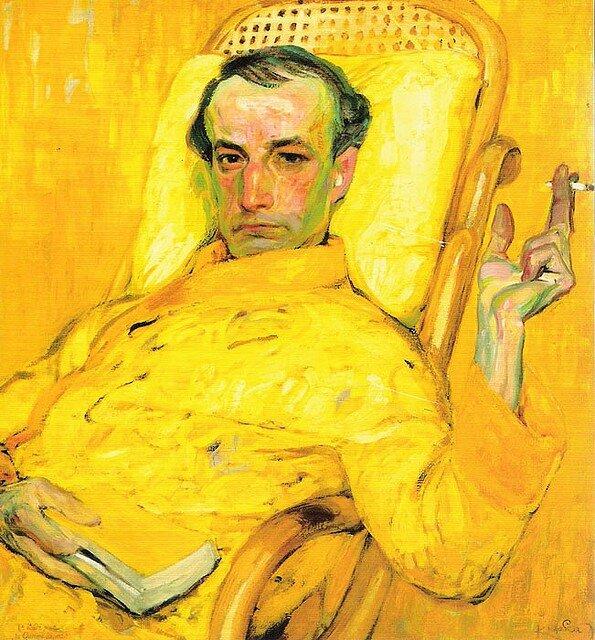 Portrait — The Yellow Scale by Franz Kupka(1907)