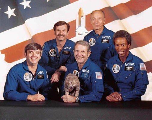 астронавты НАСА