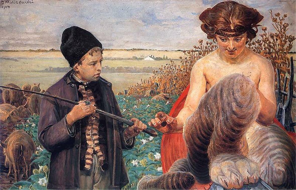 Искушение судьбы.Яцек Мальчевский(1854 -  1929)