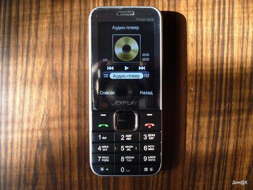 Explay Power Bank (аудиоплеер)