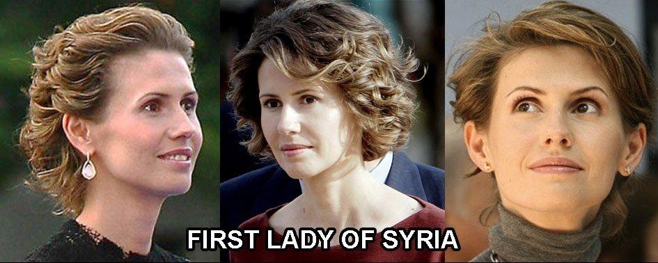 первая леди Сирии