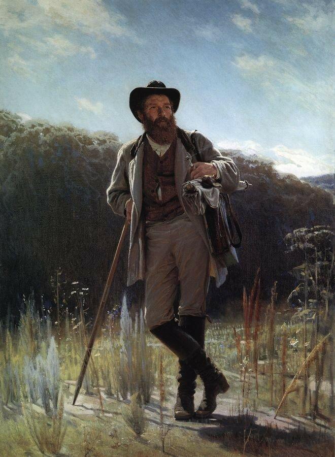 Портрет И.И.Шишкина. 1873<br />