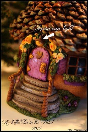 Сказочные домики из тыквы: мастер-класс и идеи
