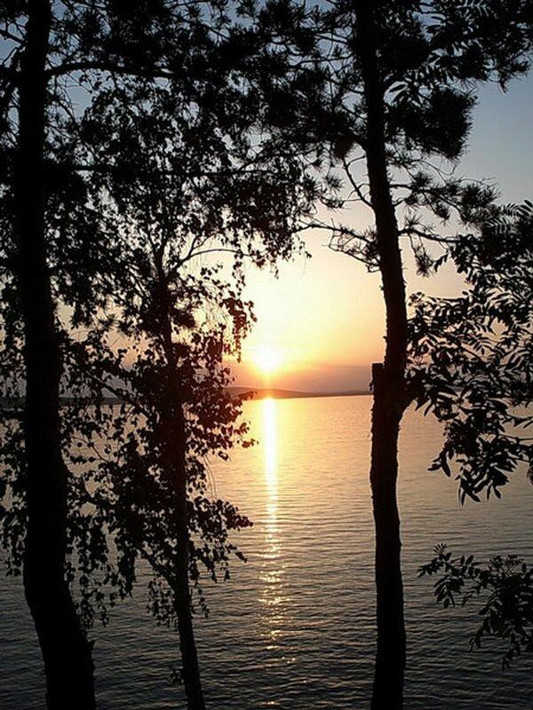 Закат на озере Синара (16.09.2013)