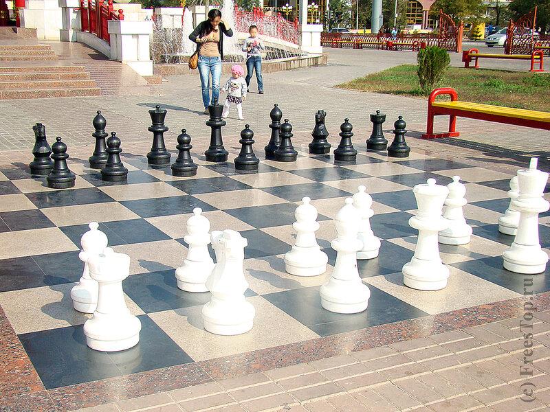 Главная площадь г.Элиста