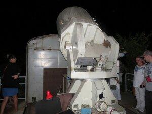 Лазерный дальномер в Симеизской обсерватории
