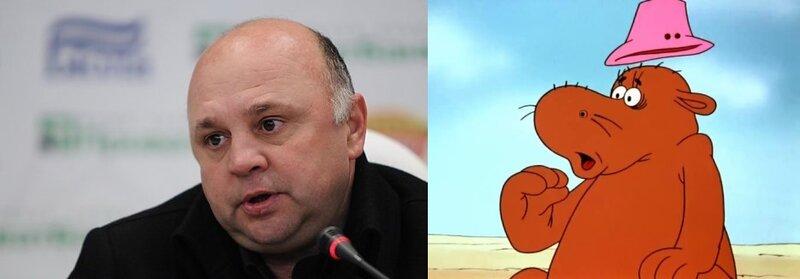 Игорь Гамула в мультфильме