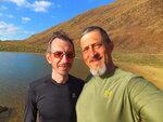 Фото про друзей и озеро Макар-Рузь