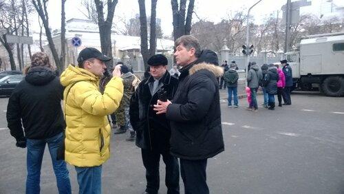 сергей кравченко дает интервью в столице