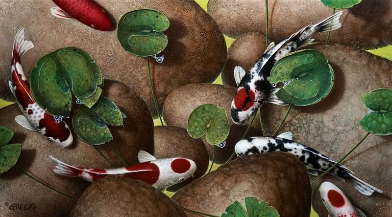 Карпы Кои от Терри Жилецки