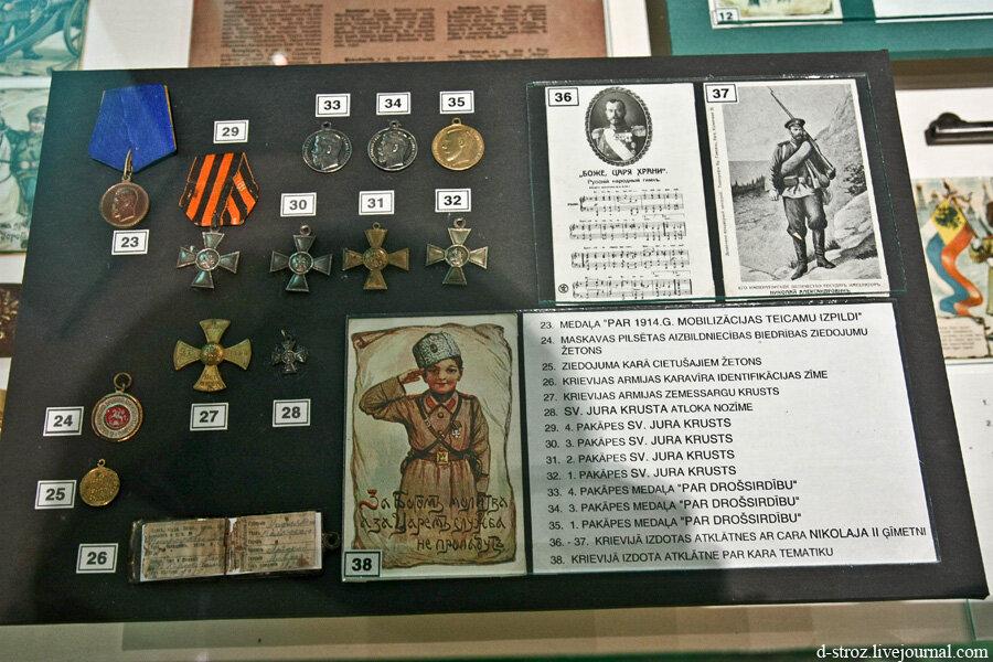 Военный музей в Риге