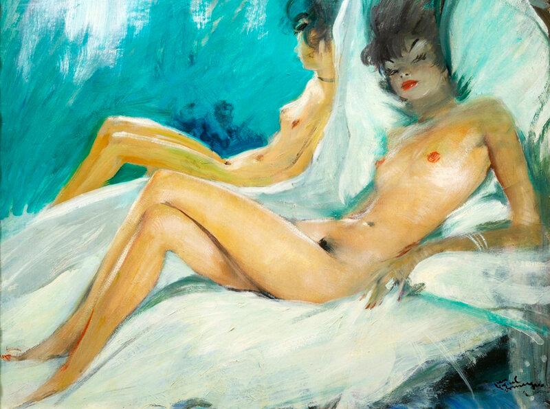 Французская художница в порно — img 14