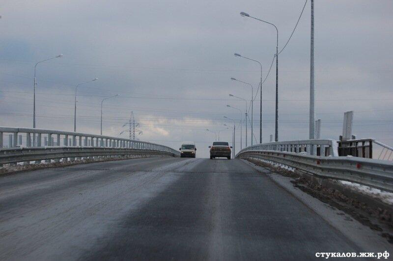 Открытие нового моста до аэропорта Волгограда