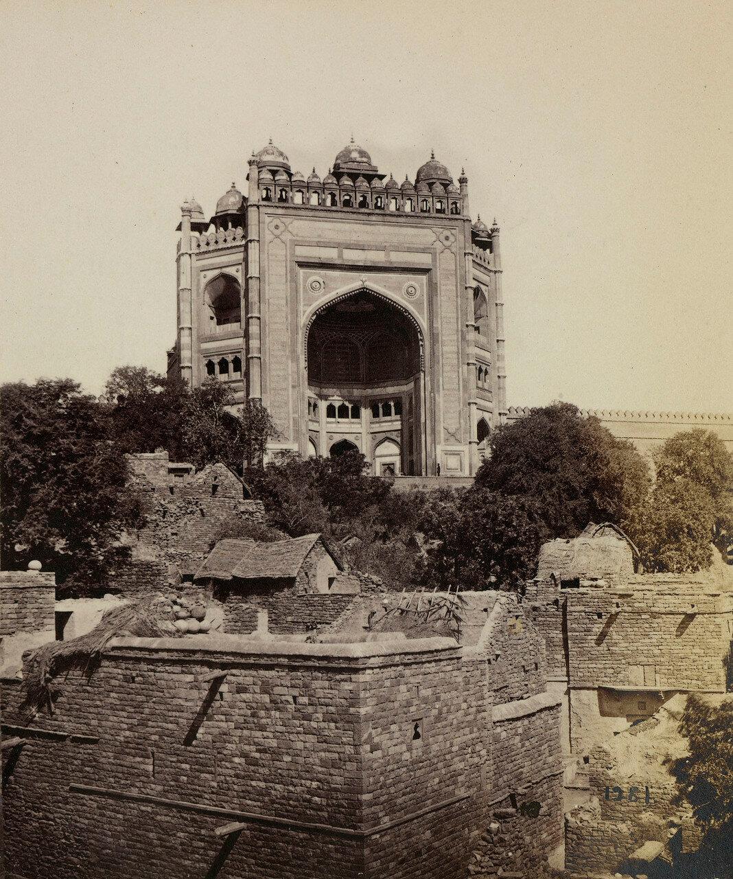 67. Окрестности Акры. Фатехпур-Сикри. Ворота Буланд Дарваза