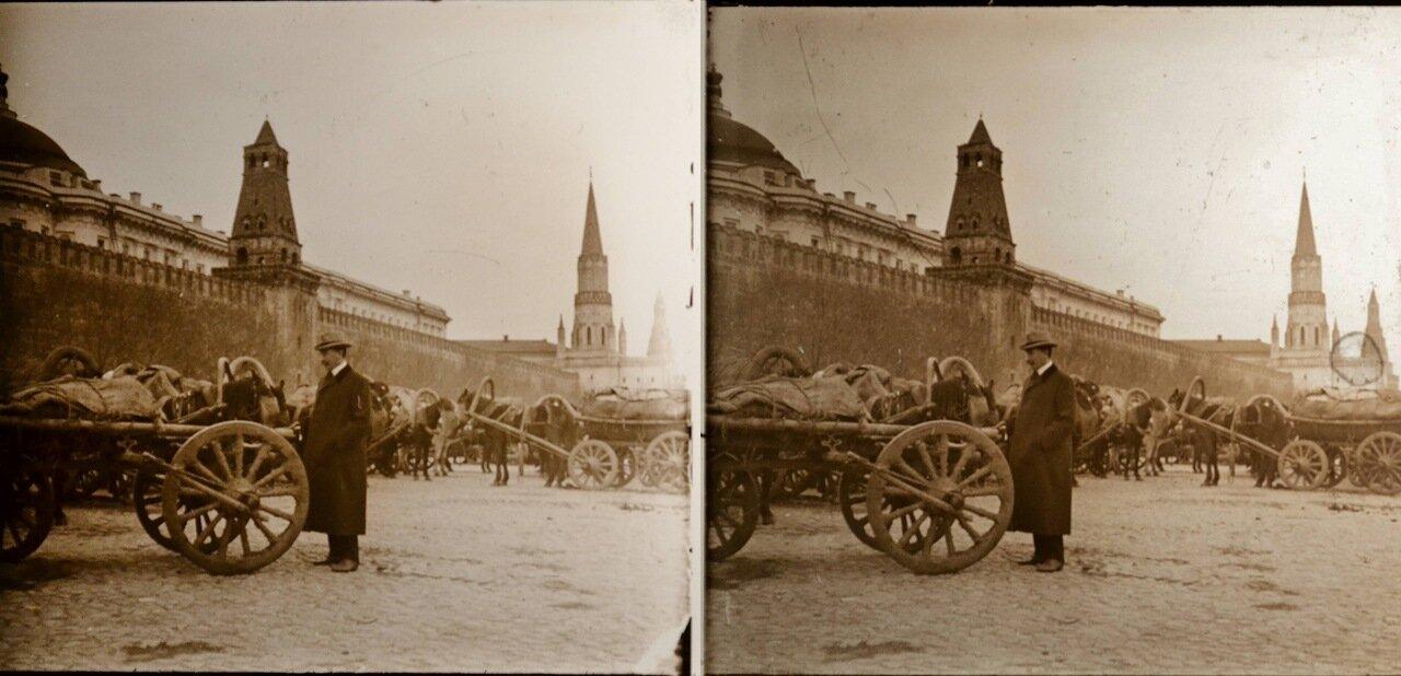 Москва. Рынок у кремлевских стен