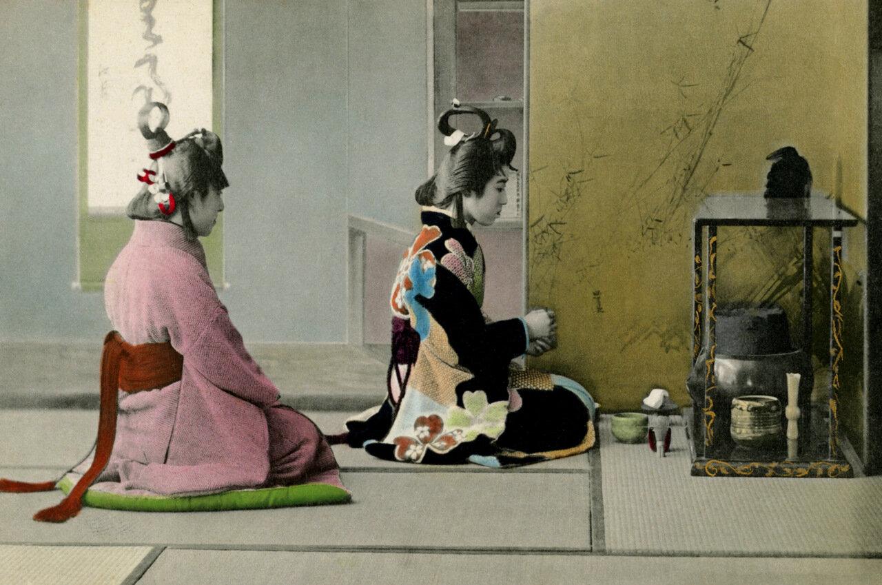1905. Чайная церемония в стиле Генроку