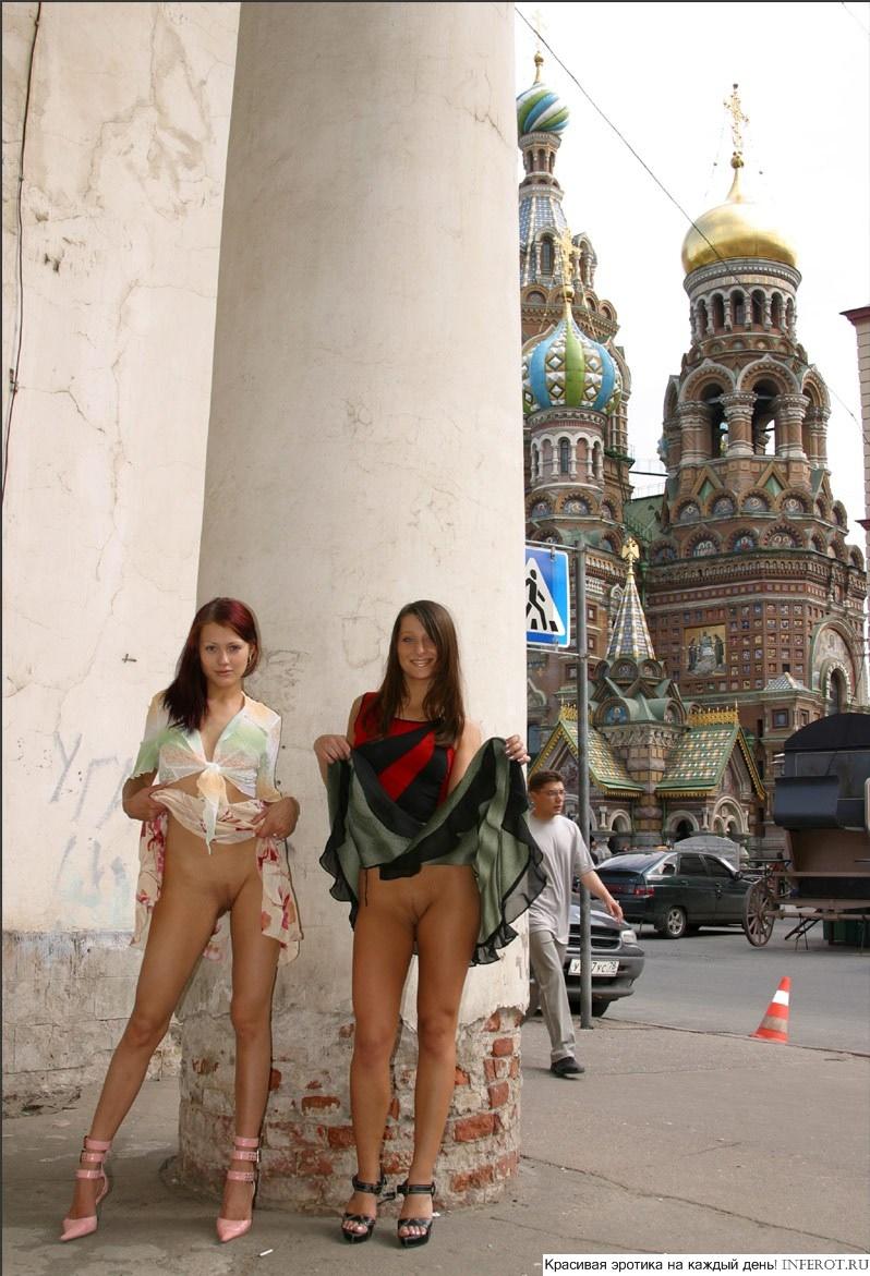 Секс на улице москвы порно