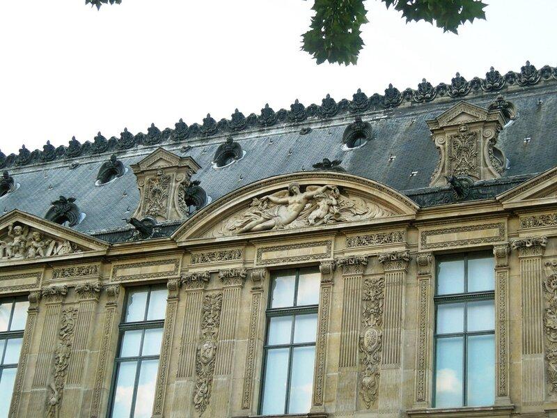 Париж. Взгляд на крышу