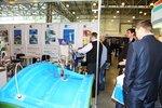 Оборудование для вакуумного формования на стенде компании Полимерпром