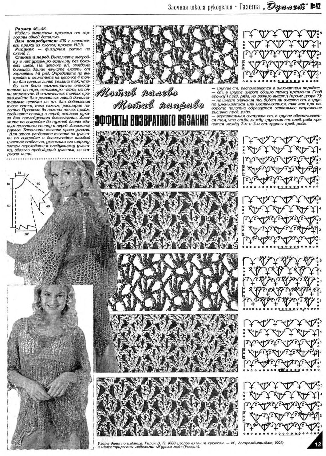 俄网编织杂志(350) - 柳芯飘雪 - 柳芯飘雪的博客