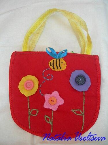 сумочка для маленькой модницы