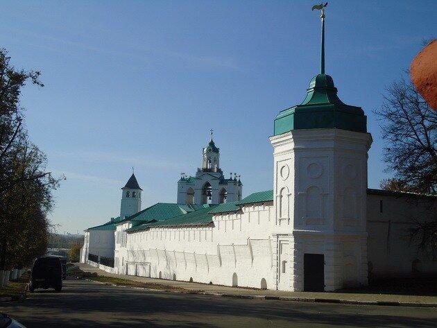Спасо-преображенский монастырь. Ярославль