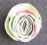 Фоторамка с бумажными цветами