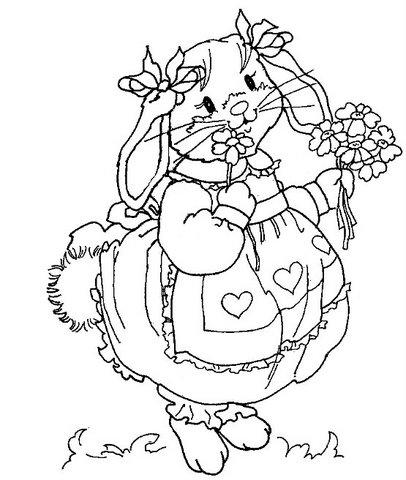 Шаблоны пасхального кролика