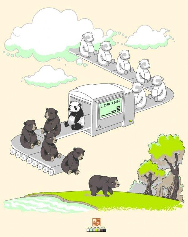 как получаются панды