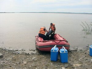 Экологи России и Китая приступили к гидромониторингу реки Амур