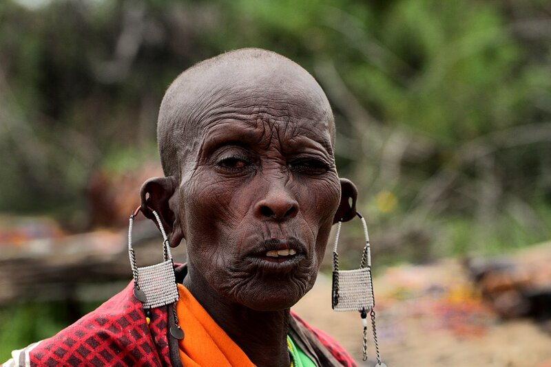 Masai Lady by Atish Sen
