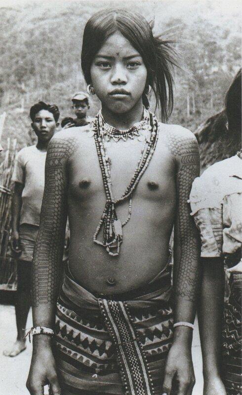 kalinga girl, philippines 1930s