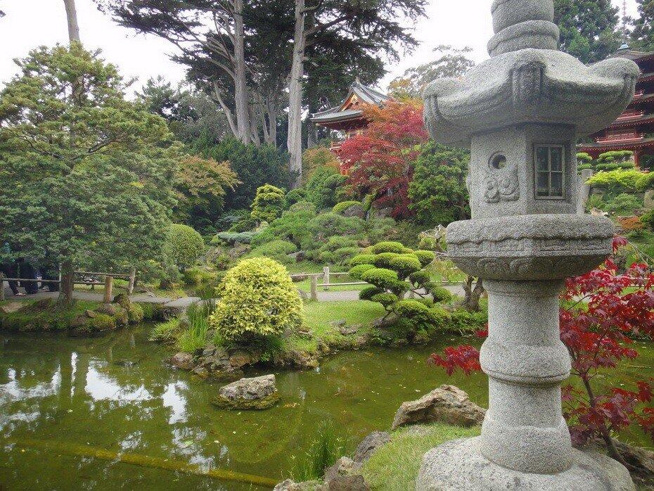 Чайный сад -  кусочек Японии в Америке
