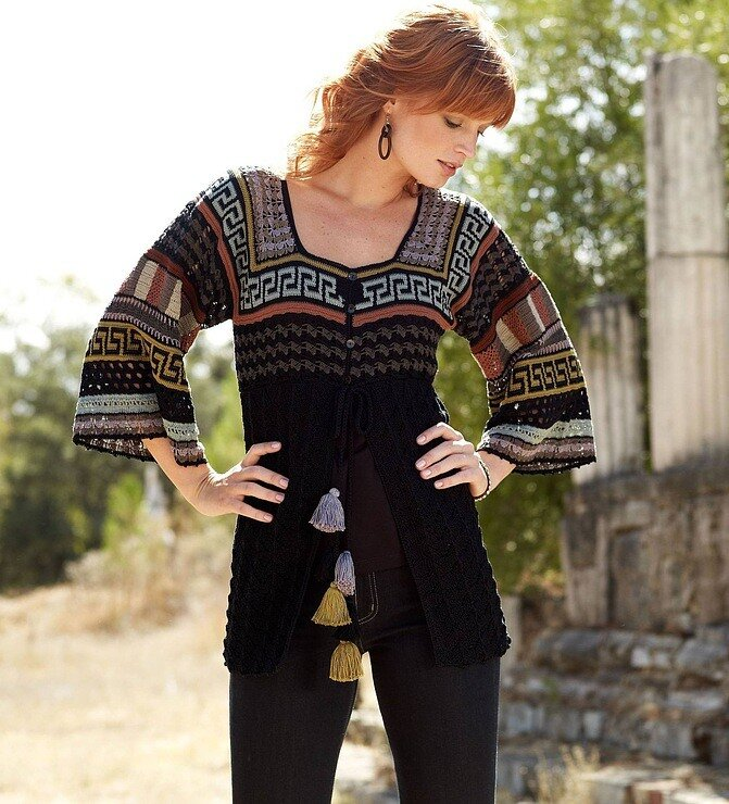 Crafts for summer cardigan for women free crochet for Craft ideas for women