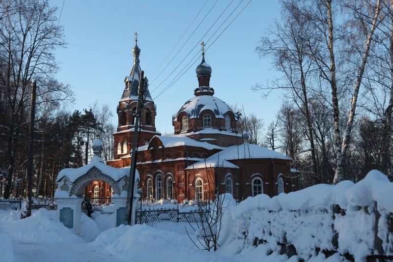 Гороховец - Всехсвятская церковь