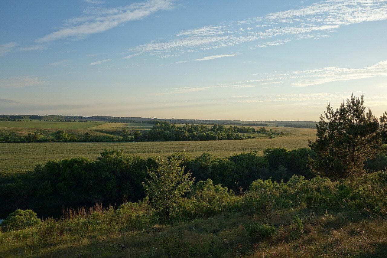 близ деревни Федяшево
