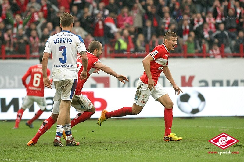 «Спартак» vs ЦСКА 3:0 Премьер-лига 2013-2014 (Фото)