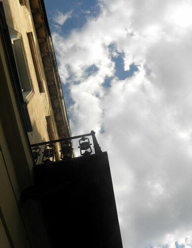 Небо над домом детства